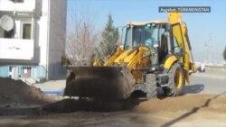 Aşgabat: Parahat-7-niň 'bitmeýän' gurluşyklary