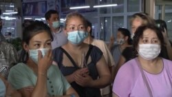 """""""Мы не от карантина, мы просто с голоду умрем"""": протесты торговцев рынка в Нур-Султане"""