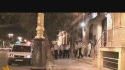 Emin Milli və Adnan Hacızadə qolları qandallı