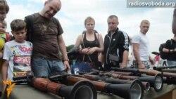 У Києві показали зброю, захоплену у бойовиків на Донбасі