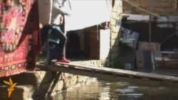 Sumqayıtın qəsəbəsi su altında