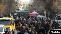 Ереван, Армения. 2021-жылдын 10-марты.
