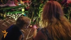 Mourners Lay Flowers At Dutch Embassy In Kyiv