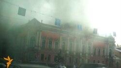 Петербург: пожар во дворце