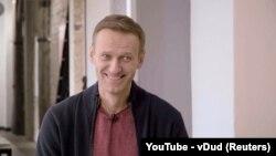 Alexei Navalnîi la Berlin, Germania, 6 octombrie 2020.