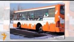 Доживающие свой век автобусы