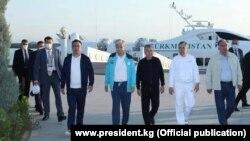 Борбор Азиянын беш мамлекетинин президенттери Түркмөнстанда.