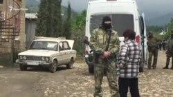 Силовики провели обыск у крымчанина в селе Морское (видео)