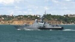 Залпы и показательный морской бой. Выставка военной техники в Севастополе (видео)