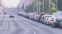 """""""Стоп-бэнзін"""" у Менску"""