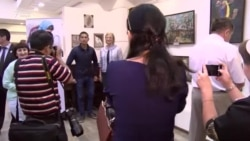 Картины афганских художников вызвали большой интерес на душанбинской выставке