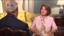 مصاحبه اختصاصی صدای آمریکای فارسی با جان کری