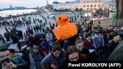 Navalny Protests Roll Across Russia