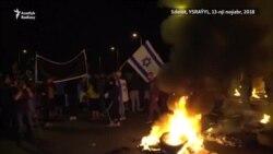 Ýaraşyk Ysraýylda protest, Gazada şatlyk döretdi