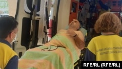 Мераб Гогоберидзе в тяжелом состоянии был доставлен в Кутаисский ожоговый центр