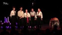 Вечір пам'яті жертв голодоморів у палаці «Україна» (відео)