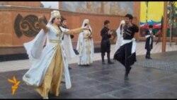 Караван мира в Бишкеке