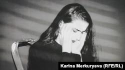 """Одна из работ Каиры Гата, представленная на выставке """"Хаос в головах"""". Фото: Карина Меркурьева"""