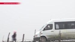 В кыргызском селе родители купили детям школьный автобус