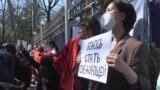 Протесты у правительства, обсуждение в парламенте: Кыргызстан в гневе от убийства Айзады