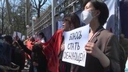 Протесты у правительства, обсуждение в парламенте: Кыргызстан в шоке и гневе от убийства Айзады