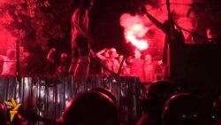 Ukrainasit protestojnë kundër një kompleksi banesor