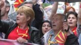 Macedonians Protest As 10-Day Clock Starts Ticking