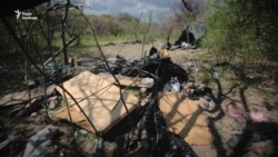 Спалене поселення ромів на «Лисій горі» (відео)