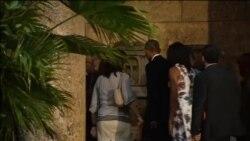 Obama u šetnji Starom Havanom