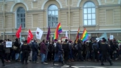 Марш против ненависти в Петербурге