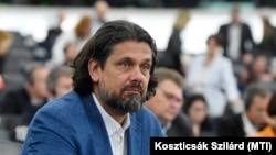 Deutsch Tamás, a FIDESZ-KDNP képviselője az Európai Parlament plenáris ülésén Strasbourgban 2019. július 16-án.