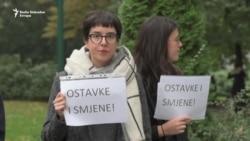 Protest zbog smrti dvije studentice