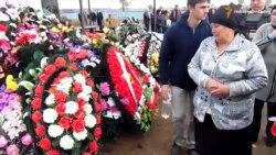 У Росії поховали військового, загиблого в Сирії (відео)