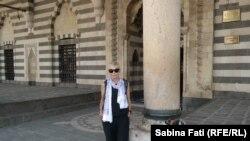 Diyarbakir. Sabina Fati, la marea moschee Behram Paşa.