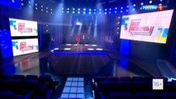 Реклама телемоста. Российские и украинские ведущие