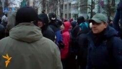 Опозиція перенесла епіцентр протестів під адміністрацію президента