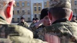 У Житомирі вдруге за часів незалежності достроково випустилися 82 офіцери (відео)