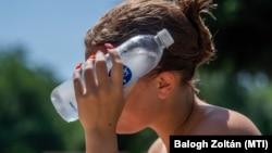 Topli talas zahvatio je Mađarsku u junu 2021. godine.