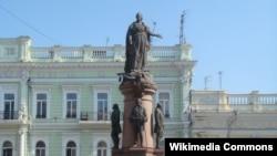 Памятник основателям города Одесса, архивное фото