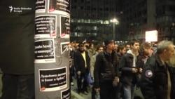 'Ulicama laži Aleksandra Vučića' u Beogradu