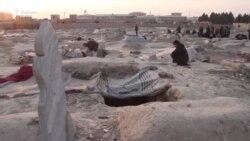 Живот сред гробовете в Северен Афганистан