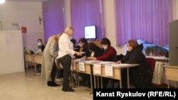 Кыргызстандын президентин шайлоо учуру. Бишкек. 10-январь, 2021-жыл.