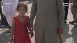 Mulțime disperată la aeroportul din Kabul