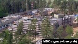 Секретная стройка у резиденции Владимира Путина в Ново-Огарёве