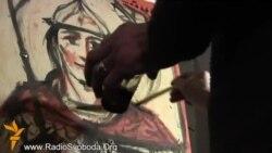 Художники розфарбували щити учасникам самооборони Євромайдану