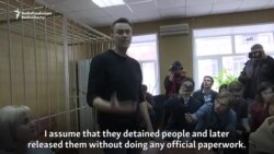 Navalny Defiant After Arrest At Moscow Protest