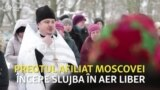 Ucraina: mulțimea blochează accesul unui preot al patriarhiei ruse în biserică