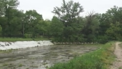 Наслідки злив у Сімферополі. Чи наповнили опади Салгир? (відео)