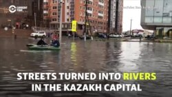 'We Live In A Swamp': Fury Over Floods In Kazakh Capital