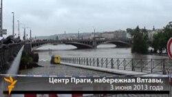 Влтава в центре Праги. 3 июня 2013